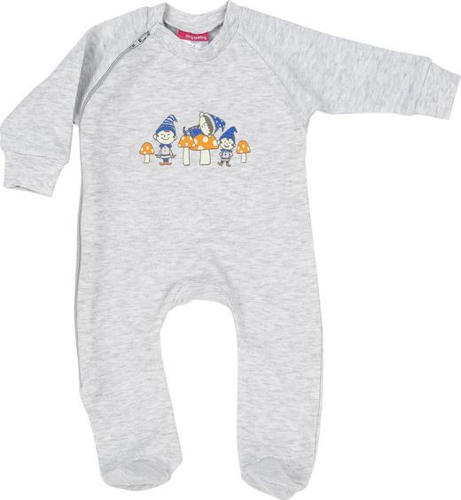 SCHLAFANZUG - Blau/Grau, Basics, Textil (80) - My Baby Lou