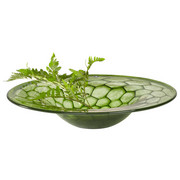 ZDJELA DEKORATIVNA - zelena, Basics, staklo (35,00cm) - Leonardo