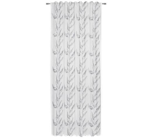 FERTIGVORHANG halbtransparent - Grau, KONVENTIONELL, Textil (135/245cm) - Esposa