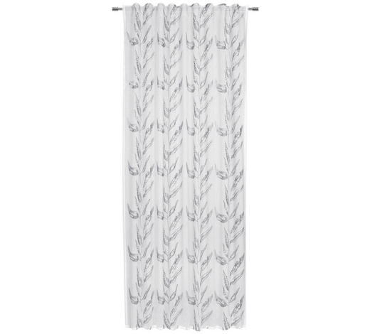 ZÁVĚS, poloprůhledné, 135/245 cm - šedá, Konvenční, textil (135/245cm) - Esposa