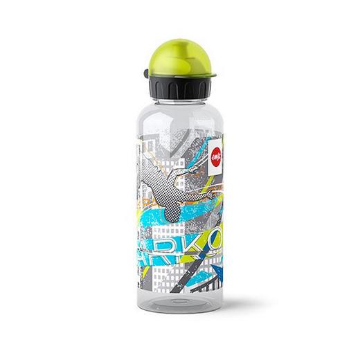 KINDERTRINKFLASCHE - Multicolor, Basics, Kunststoff/Metall (0,6l) - Emsa