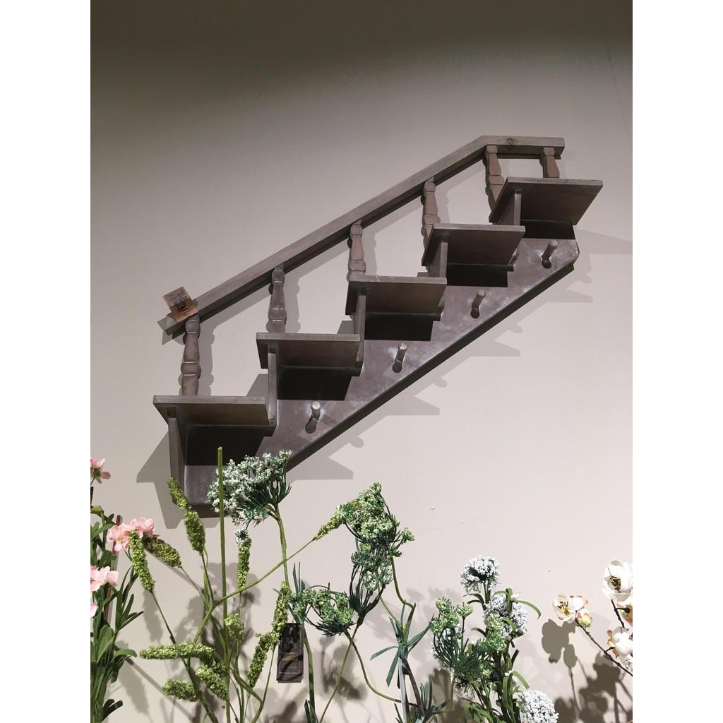 *NEU*: Blumenwandregal aus Tannenholz, grau