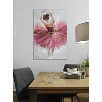 ÖLGEMÄLDE - Multicolor, LIFESTYLE, Holz/Textil (80/120cm) - Monee