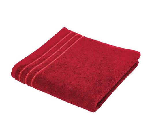 RUČNÍK - červená, Basics, textil (50/100cm) - Vossen