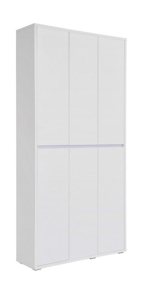 SCHUHSCHRANK 100/210/34 cm - Weiß, KONVENTIONELL, Holzwerkstoff (100/210/34cm) - Xora
