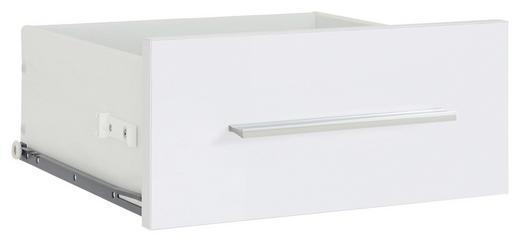 SCHUBKASTENEINSATZ Weiß - Weiß, Design (37,7/33,9/37cm) - Voleo