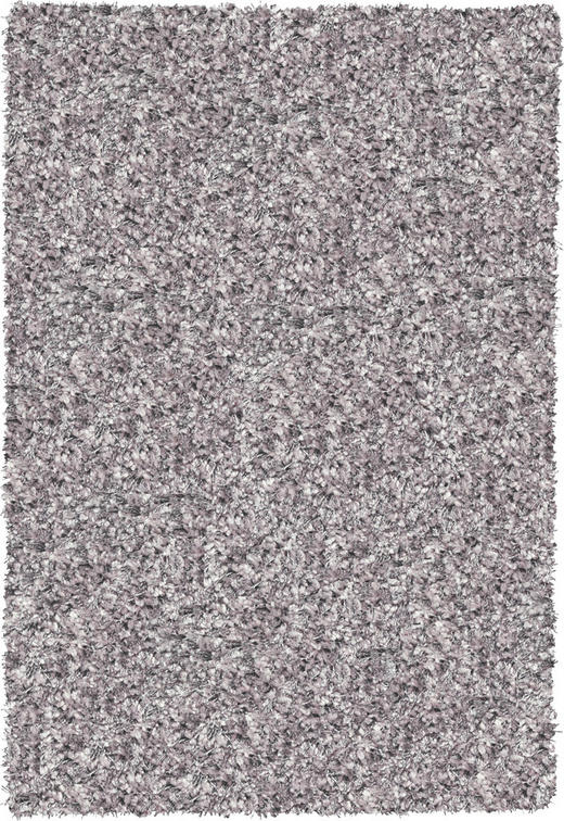 HOCHFLORTEPPICH  200/200 cm  gewebt  Silberfarben - Silberfarben, Basics, Textil (200/200cm) - NOVEL