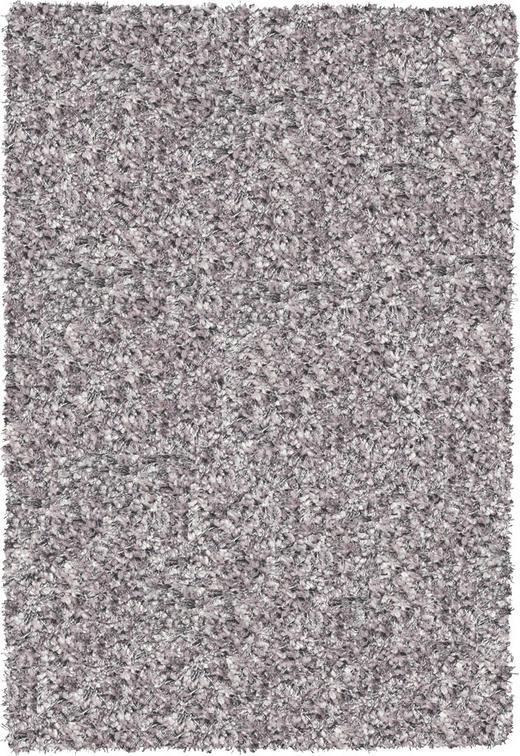 HOCHFLORTEPPICH  133/195 cm  gewebt  Silberfarben - Silberfarben, Textil (133/195cm) - NOVEL