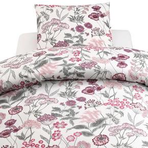 PÅSLAKANSET - grön/rosa, Klassisk, textil (50/150/60/210cm)