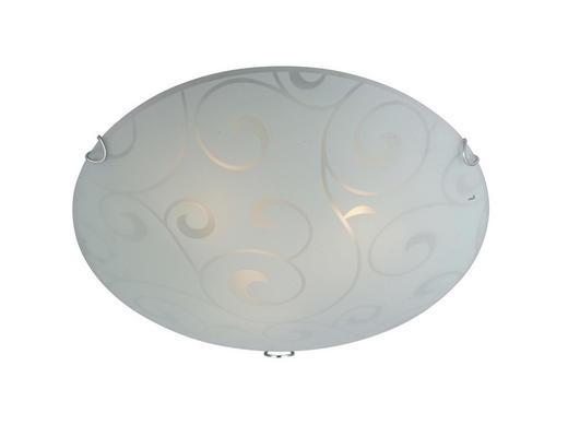 DECKENLEUCHTE - Opal, MODERN, Metall (25/8,5cm)