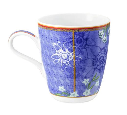 KAFFEEBECHER - Blau, Basics, Keramik (12,8/9/10,3cm) - Seltmann Weiden