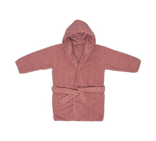 KINDERBADEMANTEL - Dunkelrosa/Schwarz, Trend, Textil (86/92null) - Bebe Jou