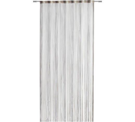 FADENSTORE transparent - Braun, KONVENTIONELL, Textil (100/260cm) - Esposa
