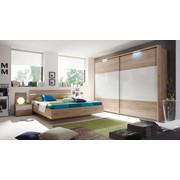 SPALNICA, bela, hrast - bela/hrast, Basics, leseni material (180/200cm) - Xora