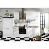 KUHINJSKI BLOK - bijela, Design, drvni materijal (300/204/60cm) - XORA