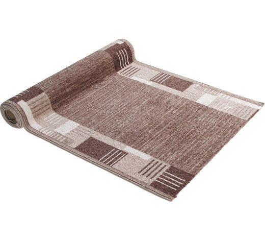 LÄUFER per  Lfm - Hellbraun, KONVENTIONELL, Kunststoff/Textil (80cm) - Esposa