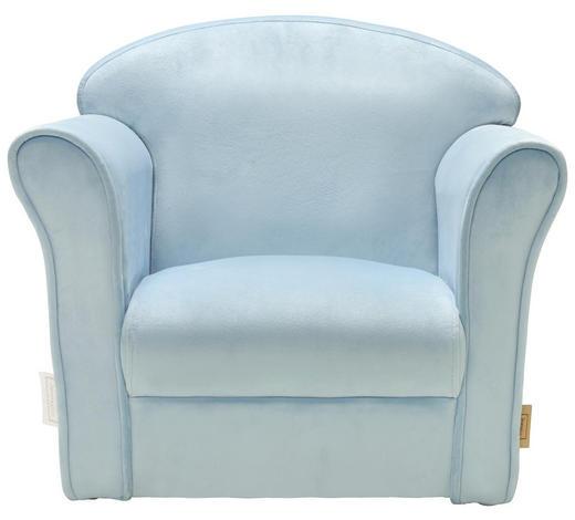 KINDERSESSEL - Blau, Trend, Textil (50/39/44cm) - Jimmylee
