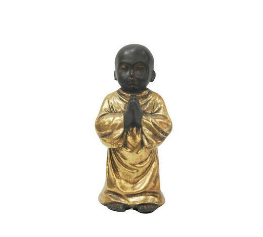MNICH - černá/barvy zlata, Lifestyle, umělá hmota (6,5/15cm) - Ambia Home