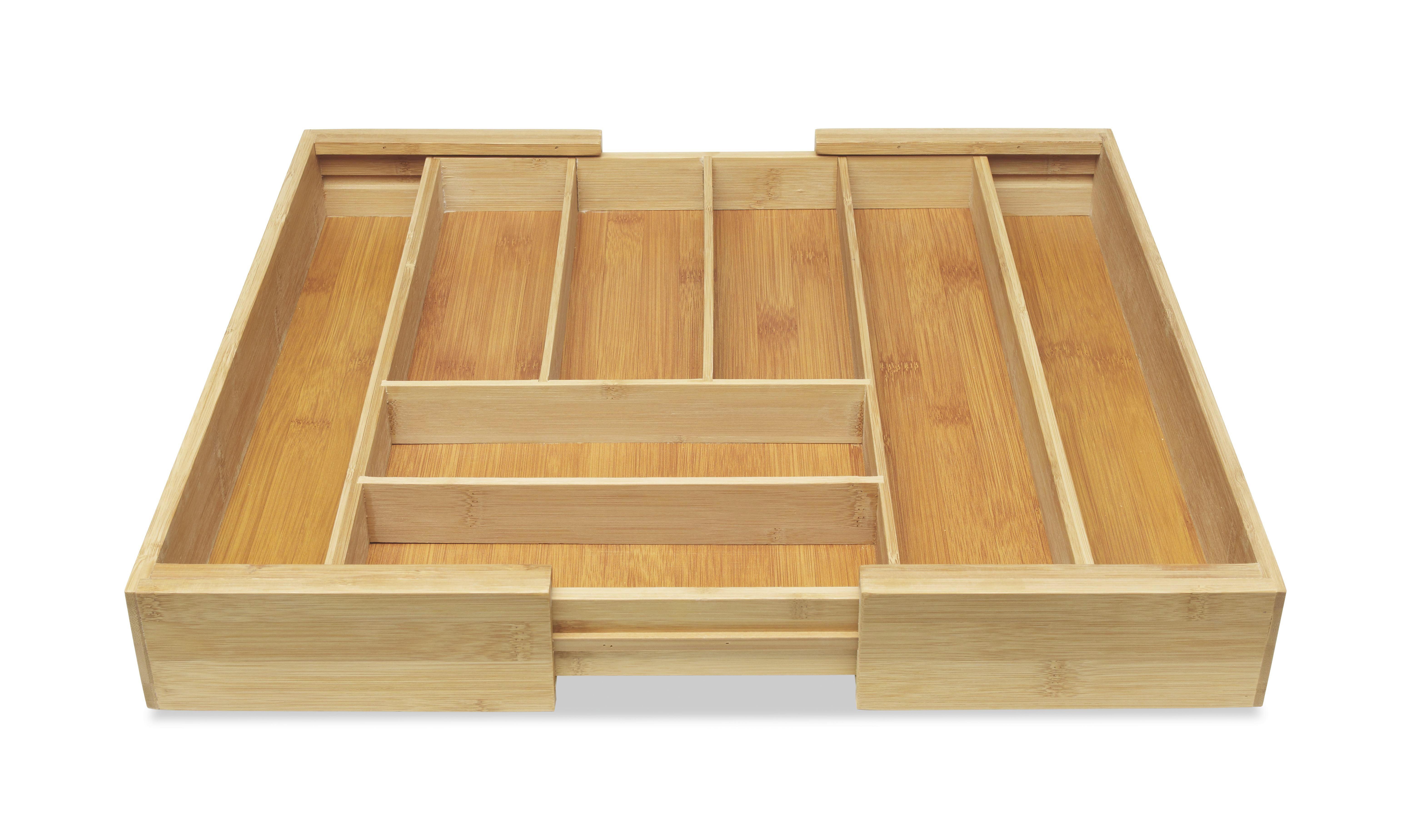 BESTECKEINSATZ - Naturfarben, Basics, Holz (35-58/43/6cm) - HOMEWARE