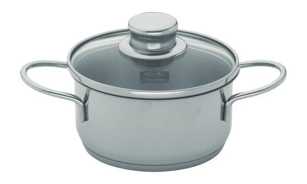 HRNEC - barvy stříbra, Basics, kov/sklo (12cm) - FISSLER
