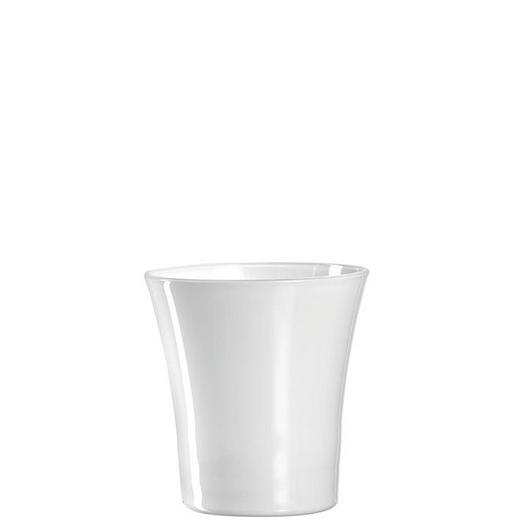 ORCHIDEENÜBERTOPF - Weiß, Basics, Glas (15cm) - Leonardo