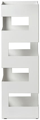 STALAK ZA KIŠOBRANE - bijela, Design, metal (16/48/16cm) - Boxxx