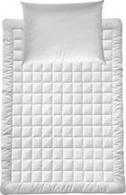LEICHTBETTENSET 140/200 cm - Weiß, KONVENTIONELL, Textil (140/200cm) - BILLERBECK