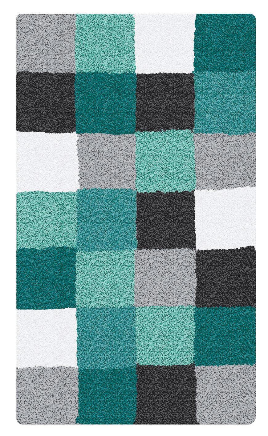 KOBEREC DO KOUPELNY - petrolej, textil/umělá hmota (70/3/120cm) - KLEINE WOLKE