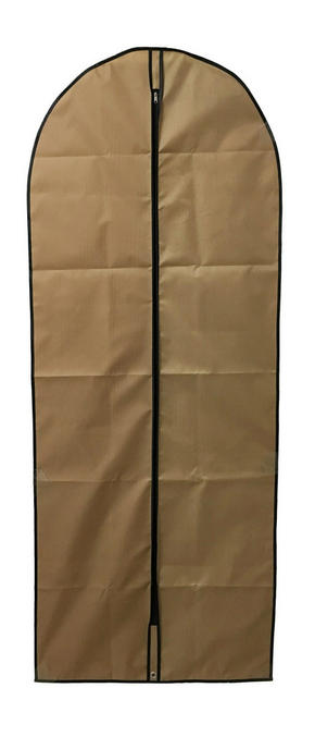KLÄDPÅSE - brun/guldfärgad, Basics, plast (60/150cm)