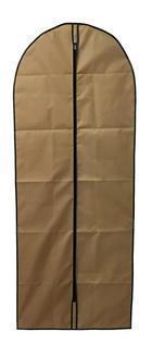 KLEIDERSACK - Goldfarben/Braun, Basics, Kunststoff (60/150cm)