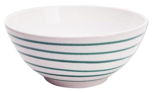 SALATSCHÜSSEL 20 cm - Grün, LIFESTYLE, Keramik (20cm) - Gmundner