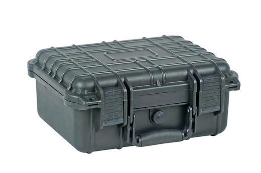 TRANSPORTKOFFER S3 - Anthrazit, KONVENTIONELL, Kunststoff (33,9/29,5/15,2cm)