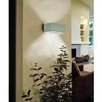 LED-WANDLEUCHTE - Nickelfarben, Design, Metall (20/8cm)