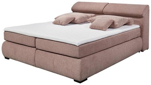 BOXSPRING KREVET - Crna/Pink, Moderno, Tekstil/Plastika (236/105/194cm) - Hom`in