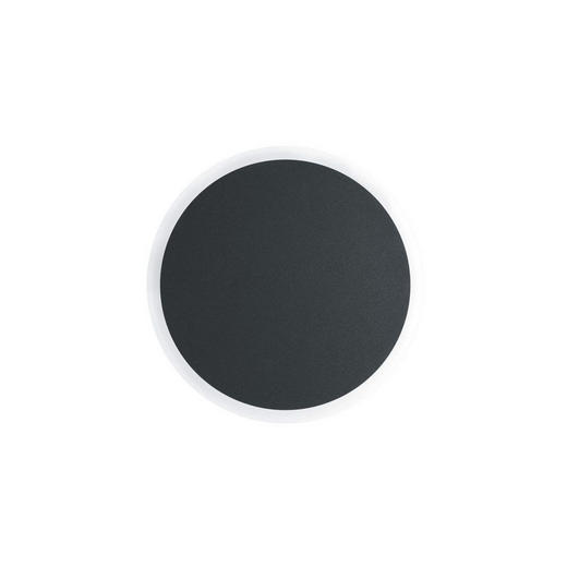 LED-AUßENLEUCHTE - Graphitfarben, Design, Metall (20/5cm)