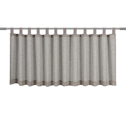 KURZGARDINE    50/140 cm  - Taupe, Basics, Textil (50/140cm) - Esposa