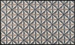 FUßMATTE 75/120 cm Graphik Braun, Grau - Braun/Grau, Basics, Kunststoff/Textil (75/120cm) - Esposa