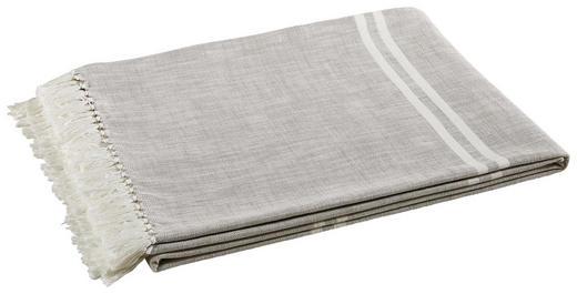 WOHNDECKE 160/210 cm Grau, Weiß - Weiß/Grau, Design, Textil (160/210cm) - Novel