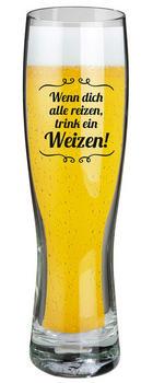 WEIZENBIERGLAS - Klar, Trend, Glas (6/25cm)