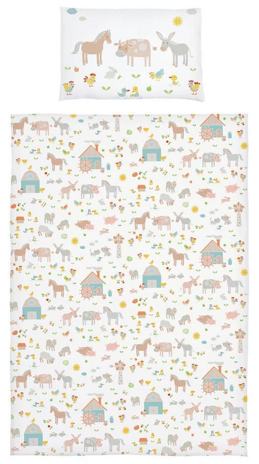 KINDERBETTWÄSCHE Flachgewebe Beige - Beige, Basics, Textil (28/3/38cm) - My Baby Lou