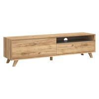 LOWBOARD in Eichefarben - Eichefarben, Design, Holz/Holzwerkstoff (187/50/45cm)