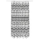 Duschvorhang Svenja - Schwarz/Weiß, MODERN, Textil (180/200cm) - Luca Bessoni
