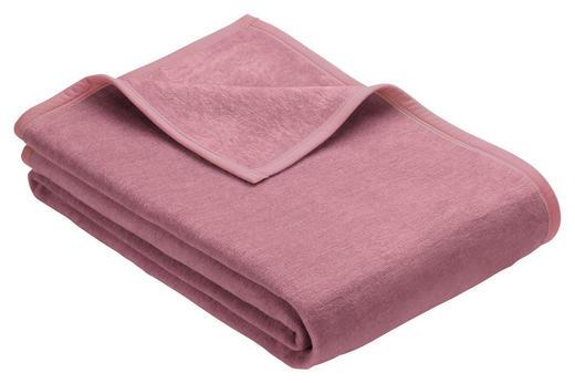WOHNDECKE 150/200 cm - Beere, Basics, Textil (150/200cm) - Novel