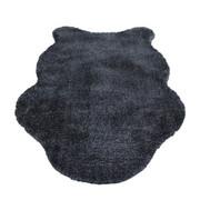 KUNSTFELL - Grau, Trend, Kunststoff/Textil (60/100cm) - Boxxx