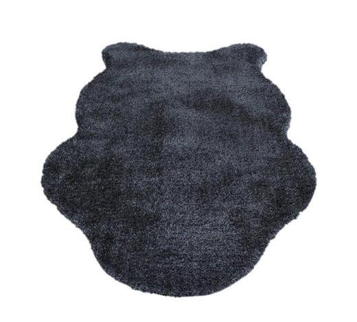 KUNSTFELL - Grau, Trend, Kunststoff/Textil (80/120cm) - Boxxx