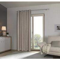 ZÁVĚS HOTOVÝ - antracitová, Design, textil (140/245cm) - Esposa