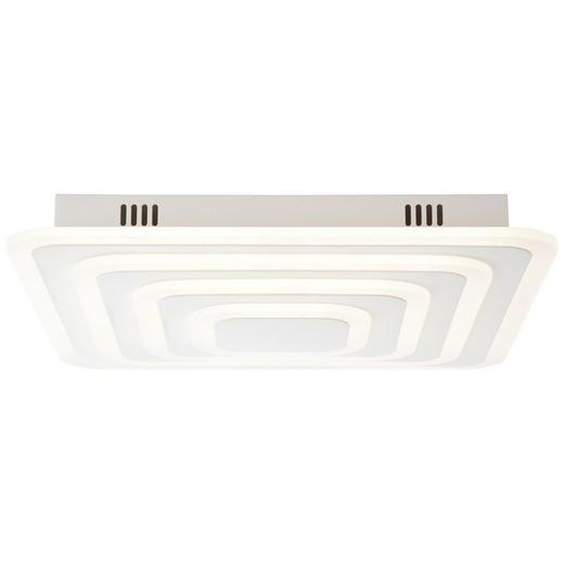 LED-DECKENLEUCHTE - Sandfarben/Weiß, LIFESTYLE, Kunststoff/Metall (7,7/47/47cm)