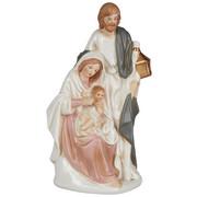 FIGURICA ZA JASLICE - siva/bela, keramika (12/21,7/9cm) - X-Mas
