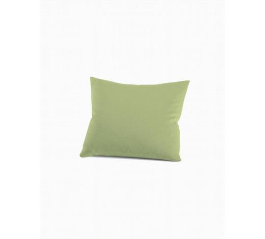 KISSENHÜLLE - Hellgrün, Basics, Textil (40/60cm) - Schlafgut