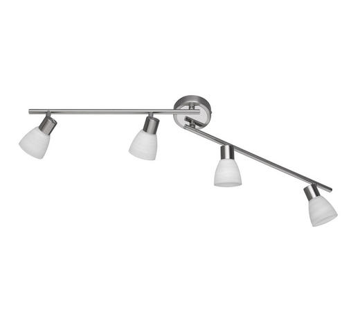 LED-STRAHLER - Nickelfarben, KONVENTIONELL, Metall (90/19/10cm)